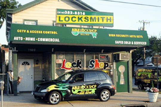 able lock shop store